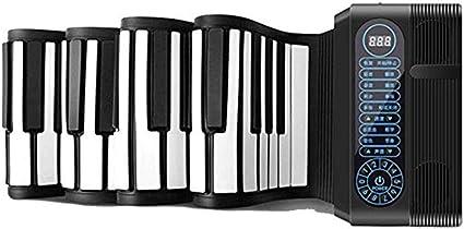 Pianos y teclados 61 Teclas Enrollado a Mano Altavoces Dobles ...