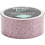 American Crafts 369796 Glitter Tape, 7/8''/10', Pale Pink