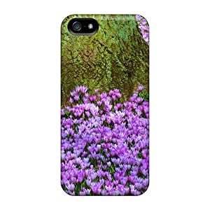 Case Cover Purple Floor/ Fashionable Case For Iphone 5/5s