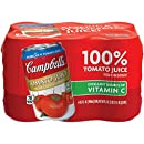 Campbell's Tomato Juice, 11.5 oz. (Pack of 24) (Packaging May Vary)