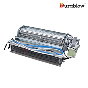 amazon com durablow electric fireplace replacement blower fan durablow electric fireplace replacement blower fan unit infrared heating elements compatible heat surge real flame other brands
