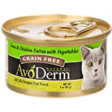 AvoDerm Natural Tuna & Chicken Entr̩e With Vegetables РCat 24/3 oz. For Sale