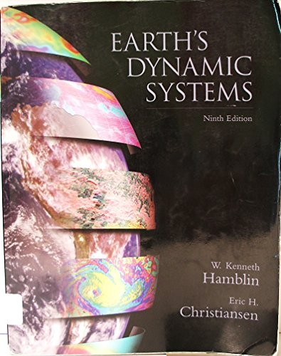 Earth's Dynamic System with CDROM