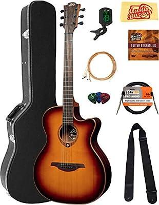 Lag t100acebrs Tramontana Auditorio Cutaway Guitarra ...