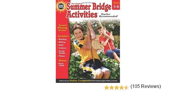 Summer Bridge Activities, Grades 5 - 6: Summer Bridge Activities ...