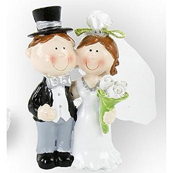Objektkult Mini Deko Hochzeitspaar In Tute 4 Varianten