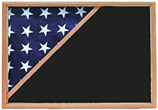 product image for Shadow Box for 5x9.5 Flag, Oak