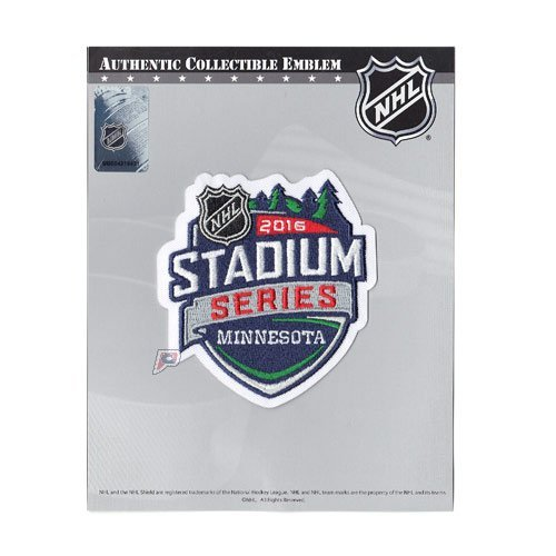 2016 Nhl Stadium Series Game At Tcf Bank Stadium Logo Jersey Patch  Minnesota Wild Vs  Chicago Blackhawks