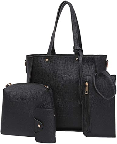 Rakkiss Oxford Cloth Crossbody Bag Solid Messenger Bag Large Capacity Handbag Shoulder Bag