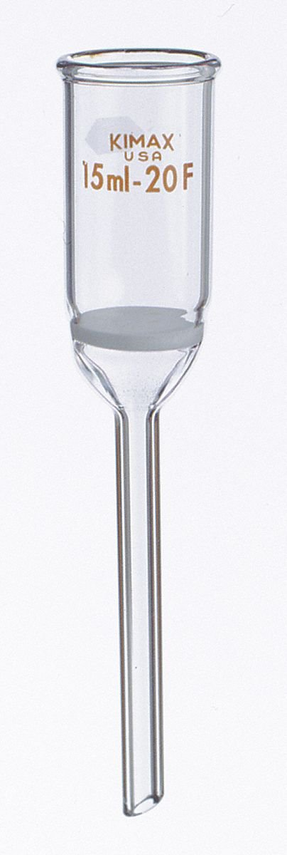 2mL Buchner Filtration Funnel, Stem OD: 7mm, Stem Length: 30mm by KIMBLE (Image #1)