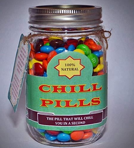 Chill Pill - Best Gag Gift | White Elephant Gift | Funny Gift for Boyfriend | Gift for Girlfriend | Gift for Men | Gift for Women | Gift for Friends | Birthday Gift | Christmas Gift