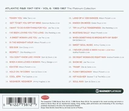Atlantic Rhythm Blues 1947 74 Vol 6 International Release