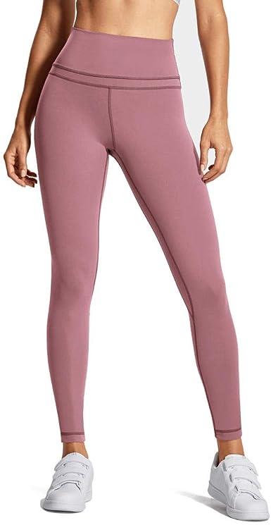 DELLA Leggings Ligeros de Bolsillo de Cintura Alta para Mujer Pantalones de Entrenamiento: Amazon.es: Ropa y accesorios