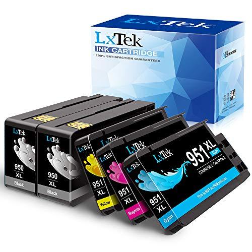 lxtek Cartuchos de tinta compatibles HP 950X L 951X L HP 950951XL High Yield, 5 Pack