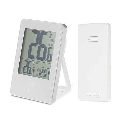 Inalámbrico de precisión a distancia Termómetro digital de interior al aire libre de temperatura Medidor de