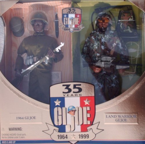 - G.I. Joe 35th Anniversary Action Soldier Then & Now African-American 12