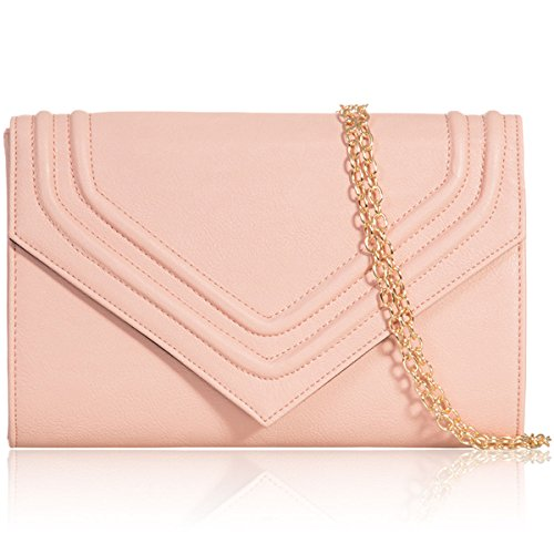 Xardi London flap in ecopelle donne pochette da sposa designer donne Evening party Handbags Blush