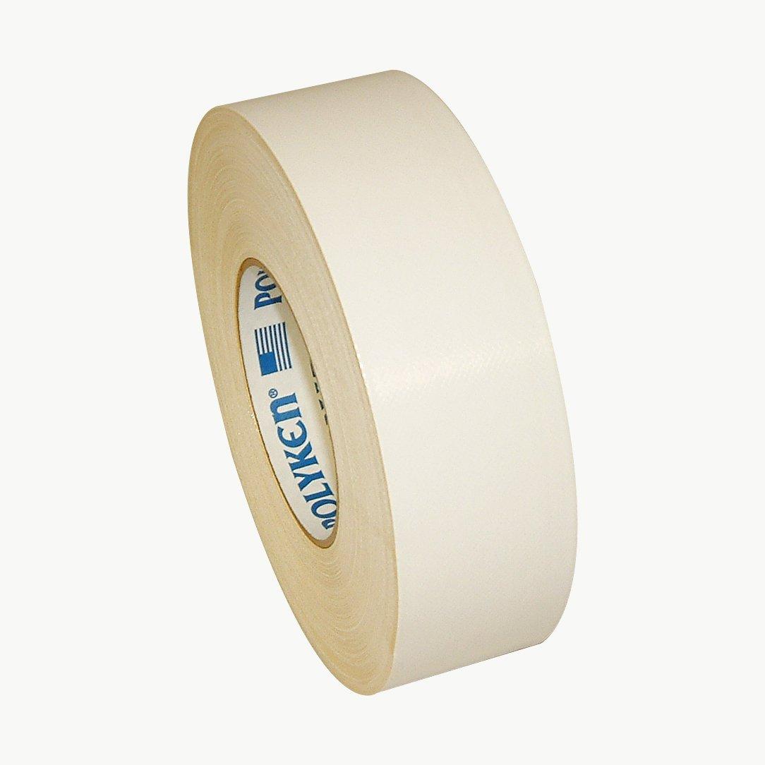 Polyken 221/WI260 221 Premium Screenprinter's Tape, 12 mil Thick, 60 yd. Length x 2'' Width, White