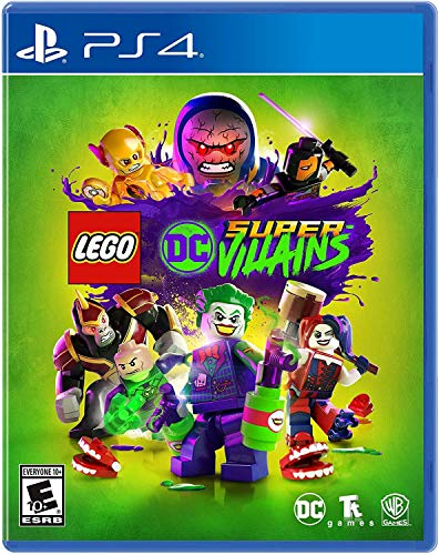 LEGO DC Super-Villains - PlayStation 4 (Best Cheap Playstation 3 Games)