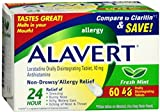 Alavert 24 Hour Orally Disintegrating Tablets Fresh Mint 60 Tablets (Pack of 5)