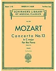 Concerto No. 13 in C, K. 415: Schirmer Library of Classics Volume 1789 Piano Duet