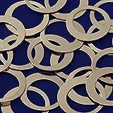 20pcs tibetara 1 5/8''(39mm)brass Round Circle Pendants Blank Stamping Tags Diy Stamping Jewelry,inner diameter 25mm