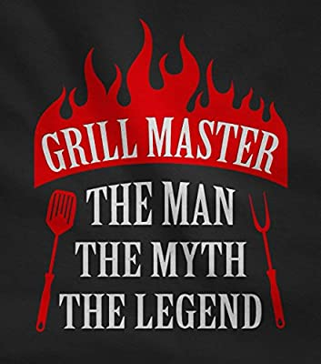 Gift for Men - Grill Master The Man The Myth The Legend Griller Gifts Father's Day / Birthday Gift for Dad, Grandad or Husband Funny BBQ Chef Apron