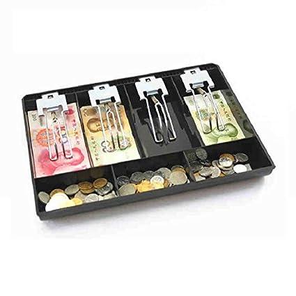 GUANHE Caja registradora Nueva Classify store Moneda cajero Caja cajón Bandeja Coin y Bill Tray