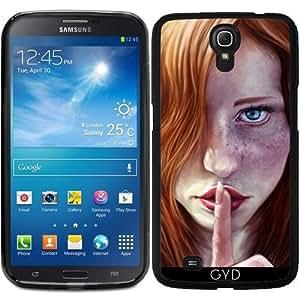 Funda para Samsung Galaxy Mega 6.3 GT-I9205 - Shh by GiordanoAita