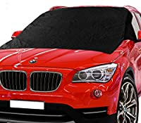X-Shade Windshield Snow Cover 50 x 62 Inches Best Car Magnetic Frost Guard Windshields Comes With Non-slip Pad