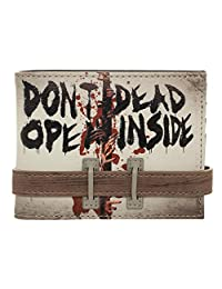 Walking Dead Don't Open Bi-Fold Wallet
