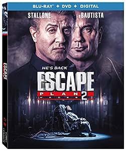 Escape Plan 2: Hades (Blu-Ray + DVD + Digital)