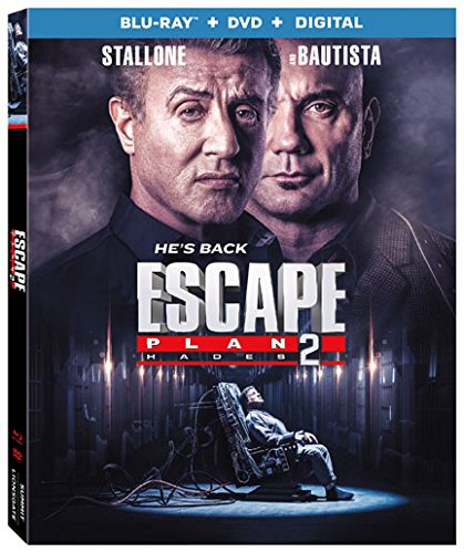 Blu-ray : Escape Plan 2 (With DVD, Ultraviolet Digital Copy, 2 Pack, Eco Amaray Case, 2PC)