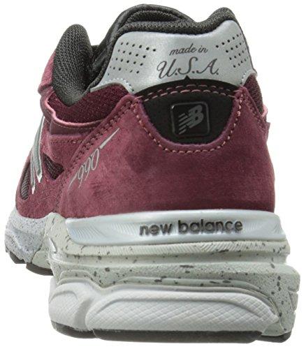 New Balance Hommes M990v3 Chaussure De Course Bourgogne