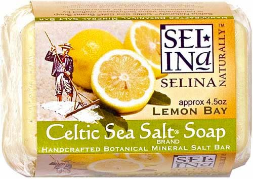 Celtic Sea Salt Soap,  Lemon Bay,  4.5 oz. bar