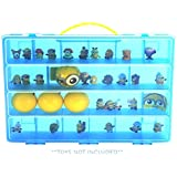Despicable Me Case, Toy Storage Carrying Box. Figures Playset Organizer. Accessories For Kids by LMB