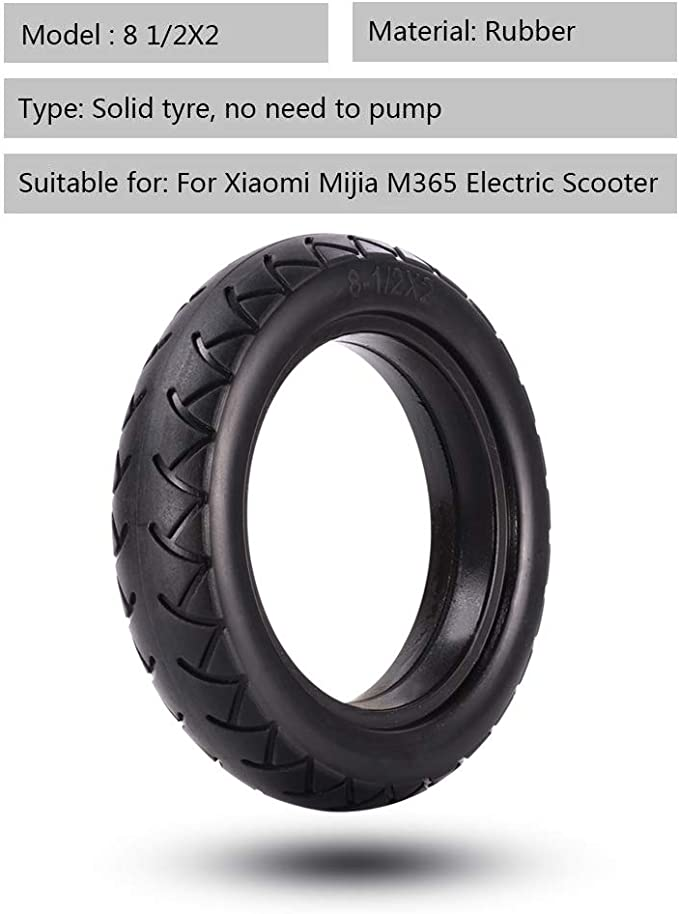 Für Xiaomi Mijia M365 Elektroroller 8 1 2x2 Vollaußenreifen-Innenschlauch