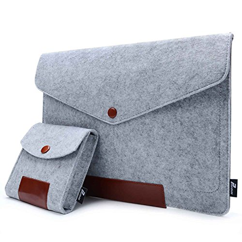 (Phenas Felt 13.3 Inch Sleeve Cover Carrying Case Laptop Bag for Apple 13