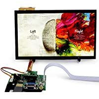 10.1 inch 1366768 IPS Capacitive Touch Screen Android Suitable For Raspberry Pi 3 Win10 Linux LCD Kit Module Display Monitor Set