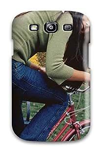 New YmDReKi813VNfQW Jordana On A Bike Skin Case Cover Shatterproof Case For Galaxy S3