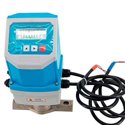Tongbao TUF-2000F+TM-1 Portable Digital Waterproof Fixed Ultrasonic Flowmeters Flow Meter with Clamp-on Sensor TM-1 DN50-700mm - Ultrasonic Portable Meter Flow
