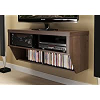 Espresso 42 Wide Wall Mounted AV Console - Series 9 Designer Collection