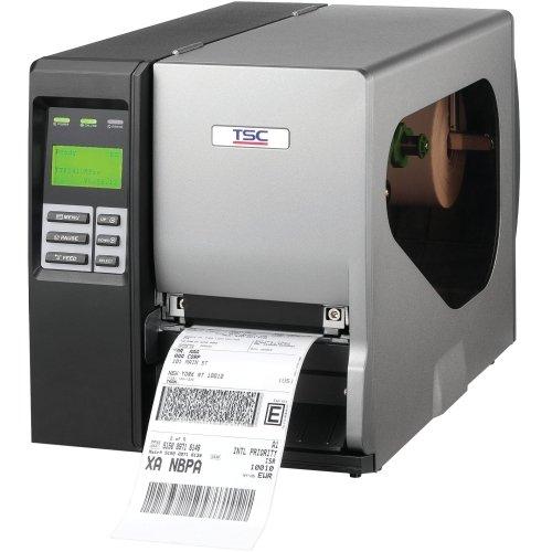"Tsc Auto Id Technology Co., Ltd - Tsc Auto Id Ttp-2410M Pro Thermal Transfer Printer - Monochrome - Desktop - Label Print - 4.09"" Print Width - Peel Facility - 12 In/S Mono - 203 Dpi - Usb - Serial - Parallel - Ethernet - Lcd ""Product Category: Printers/Label/Receipt Printers"""