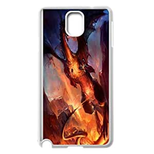 FOR Samsung Galaxy NOTE4 Case Cover -(DXJ PHONE CASE)-Powerful Dragons-PATTERN 10