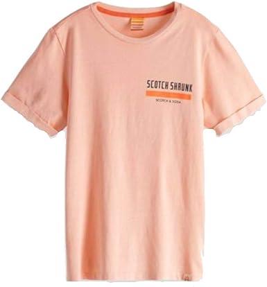 Scotch & Soda - Camiseta - Niños Rosa rosa 10 Años: Amazon.es ...