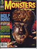 Famous Monsters of Filmland Magazine 223 WOLF MAN She Demon SHOCK THEATER House of Dracula BELA LUGOSI September 1998 (Famous Monsters of Filmland)