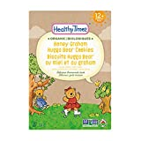 Healthy Times Organic Hugga Bear Cookies for Kids, Honey Graham | For Toddlers, 12 Months and Older | 184 g Box, 1 Count