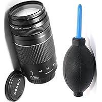 Canon 75-300mm III Zoom Lens + Deluxe Lens Blower Brush