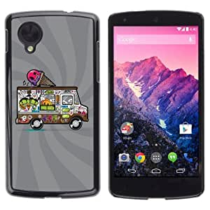 YOYOSHOP [Awesome Creepy Icecream Truck] LG Google Nexus 5 Case