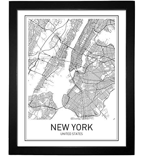 Map Of New York Poster.New York Poster New York Map New York City City Map Posters Nyc New York Print New York Art New York Art Minimalist Art Map Wall Art New